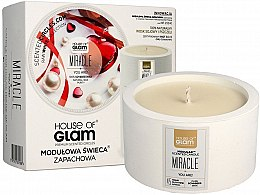 Parfémy, Parfumerie, kosmetika Vonná svíčka - House of Glam Miracle You Are Candle