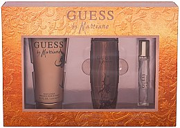 Parfémy, Parfumerie, kosmetika Guess by Marciano - Sada (edt/100ml + b/lot/200ml + edt/15ml)