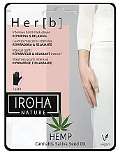 Parfémy, Parfumerie, kosmetika Maska na ruce - Iroha Nature Cannabis Hand Mask