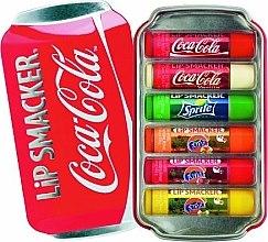 Parfémy, Parfumerie, kosmetika Sada balzámů na rty - Lip Smacker Coca-Cola Flavored Lip Gloss Collection (balm/6x4g)