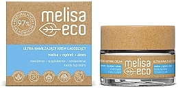 Parfémy, Parfumerie, kosmetika Ultra hydratační zklidňující pleťový krém - Melisa Eco