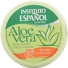 Parfémy, Parfumerie, kosmetika Tělový krém Aloe Vera - Instituto Espanol Aloe Vera Body Cream