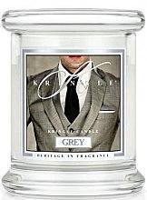 Parfémy, Parfumerie, kosmetika Vonná svíčka ve sklenici - Kringle Candle Grey
