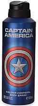 Parfémy, Parfumerie, kosmetika Deodorant - Marvel Captain America Deodorant