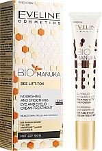 Parfémy, Parfumerie, kosmetika Antivěkový krém na pleť kolem očí - Eveline Cosmetics Bio Manuka Bee Lift-tox