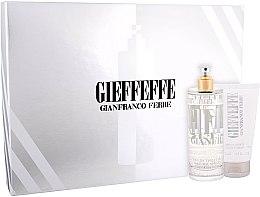 Parfémy, Parfumerie, kosmetika Gianfranco Ferre Gieffeffe - Sada (edt/100ml + sh/gel/75ml)