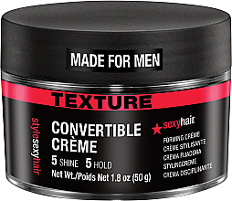 Parfémy, Parfumerie, kosmetika Texturující krém na vlasy - SexyHair Style Convertible Forming Creme