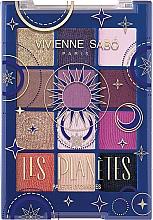 Parfémy, Parfumerie, kosmetika Paletka očních stínů - Vivienne Sabo Les Planetes Eyeshadow Palette