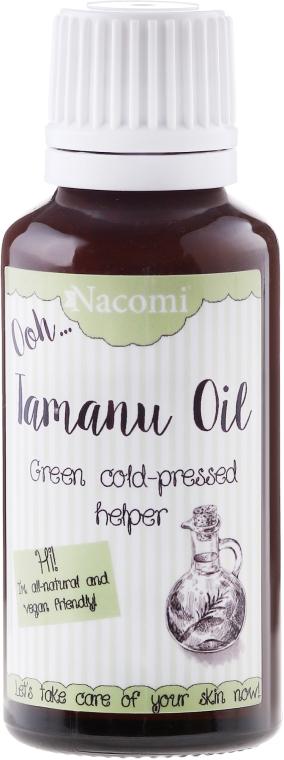 Přírodní olej Tamanu pro obličej a tělo - Nacomi Olej Tamanu Redukcja Blizn — foto N1