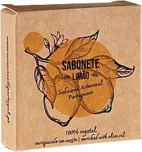 """Parfémy, Parfumerie, kosmetika Přírodní mýdlo """"Citron"""" - Essencias De Portugal Senses Lemon Soap With Olive Oil"""