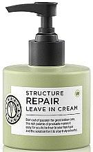 Parfémy, Parfumerie, kosmetika Krém na vlasy - Maria Nila Structure Repair Leave In Cream
