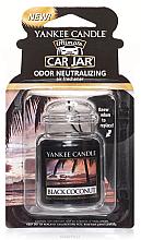 Parfémy, Parfumerie, kosmetika Gelová vůně - Yankee Candle Car Jar Ultimate Black Coconut