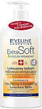 Parfémy, Parfumerie, kosmetika Arganový balzám - Eveline Cosmetics Extra Soft Luxurious Body Balm