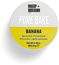 Parfémy, Parfumerie, kosmetika Sypký matující pudr - Makeup Obsession Pure Bake Baking Powder Banana