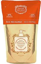 "Parfémy, Parfumerie, kosmetika Marseillské tekuté mýdlo ""Provence"" - Panier des Sens Provence Liquid Marseille Soap (doy-pack)"