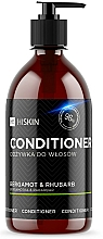 Parfémy, Parfumerie, kosmetika Kondicionér na vlasy s ionty stříbra Bergamot a reveň - HiSkin Bergamot & Rhubarb Conditioner