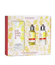 Parfémy, Parfumerie, kosmetika Loccitane Osmanthus - Sada (edt/75ml+sh/gel/75ml+b/milk/75ml)