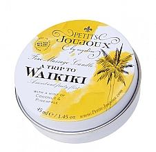 Parfémy, Parfumerie, kosmetika Masážní svíčka s vůní Piña Colada - Petits JouJoux Mini A Trip To Waikiki