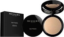 Parfémy, Parfumerie, kosmetika Zapečený pudr na obličej v krabici - Mesauda Milano Silk Touch Powder