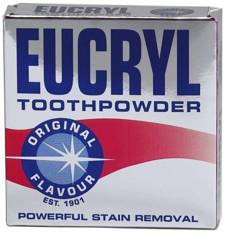 Zubní prášek - Eucryl Toothpowder Original