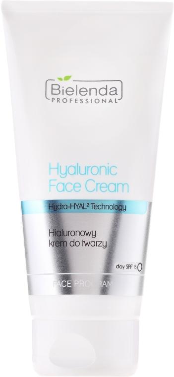 Hyaluronický krém na obličej c SPF 15 - Bielenda Professional Hydra-Hyal Injection Hyaluronic Face Cream — foto N3