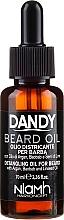 Parfémy, Parfumerie, kosmetika Olej na vousy a knír - Niamh Hairconcept Dandy Beard Oil