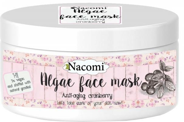 """Alginátová maska na obličej """"Brusinky"""" - Nacomi Professional Face Mask — foto N1"""
