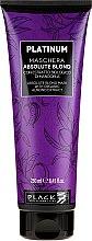 Parfémy, Parfumerie, kosmetika Maska na zesvětlení vlasů - Black Professional Line Platinum Absolute Blond Mask