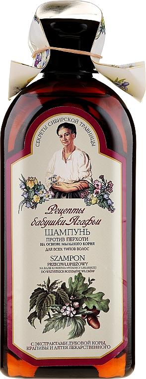 Šampon Proti lupům - Recepty babičky Agafyy