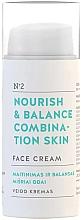 Parfémy, Parfumerie, kosmetika Pleťový krém Výživa a rovnováha - You & Oil Nourish & Balance Combination Skin Face Cream