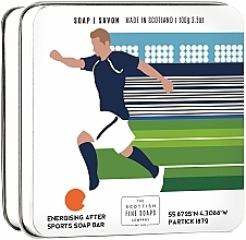 Parfémy, Parfumerie, kosmetika Mýdlo Fotbal - Scottish Fine Soaps Football Sports Soap In A Tin