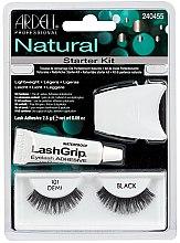 Parfémy, Parfumerie, kosmetika Sada - Ardell Natural Starter Kit Demi Black 101