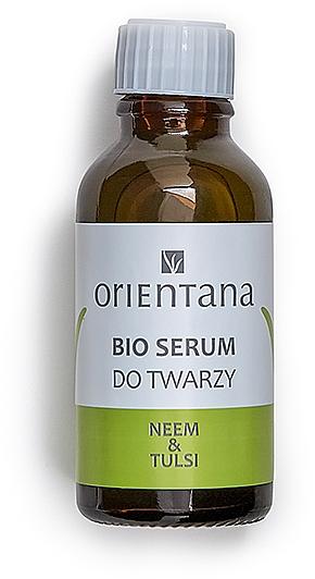 Sérum na obličej s olejem Neem a Tulsi - Orientana Bio Serum For Face