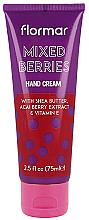 Parfémy, Parfumerie, kosmetika Krém na ruce Mix bobulí - Flormar Mixed Berries Hand Cream