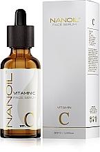 Parfémy, Parfumerie, kosmetika Zesvětlující sérum pro obličej s vitamínem C - Nanoil Face Serum Vitamin C
