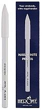 Parfémy, Parfumerie, kosmetika Bělící tužka na nehty - Herome Nail White Pencil