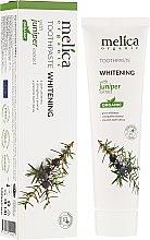Parfémy, Parfumerie, kosmetika Zubní pasta s jalovcovým extraktem - Melica Organic