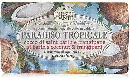 """Parfémy, Parfumerie, kosmetika Mýdlo """"Kokos a jasmín"""" - Nesti Dante Paradiso Tropicale St. Barths Coconut & Frangipane Soap"""