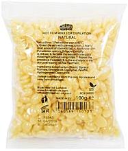 """Parfémy, Parfumerie, kosmetika Depilační vosk v granulích """"Přírodní"""" - Ronney Hot Film Wax Natural"""