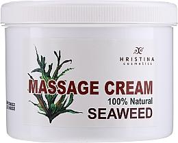 Parfémy, Parfumerie, kosmetika Masážní krém s řasami - Hristina Cosmetics Seaweed Massage Cream