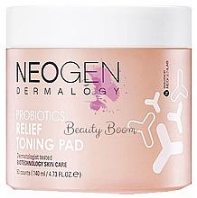 Parfémy, Parfumerie, kosmetika Hydratační polštářky s probiotiky - Neogen Dermalogy Probiotics Relief Toning Pad