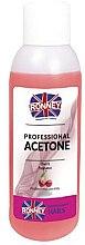 Parfémy, Parfumerie, kosmetika Prostředek pro odstraňování laku ''Višeň'' - Ronney Professional Acetone Cherry
