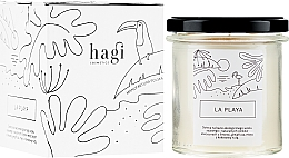 Parfémy, Parfumerie, kosmetika Sójová svíčka Pláž - Hagi Soy Candle La Playa
