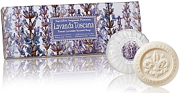 Parfémy, Parfumerie, kosmetika Sada mýdla Levandule - Saponificio Artigianale Fiorentino Tuscan Lavender Scented Soap
