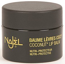 Parfémy, Parfumerie, kosmetika Balzám na rty s kokosovým olejem - Najel Coconut Lip Balm
