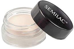 Parfémy, Parfumerie, kosmetika Podkladová báze pod oční stíny - Semilac Eyeshadow Base Powder