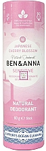 Parfémy, Parfumerie, kosmetika Deodorant Sakura japonská (karton) - Ben&Anna Natural Natural Deodorant Sensitive Japanese Blossom
