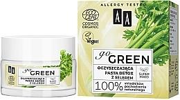 Parfémy, Parfumerie, kosmetika čistící detoxikační pasta s celerem - AA Go Green