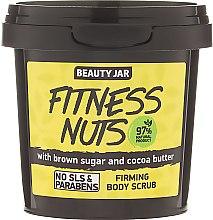 """Parfémy, Parfumerie, kosmetika Tělový peeling zpevňující """"Fitness Nuts"""" - Beauty Jar Firming Body Scrub"""