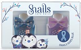 Parfémy, Parfumerie, kosmetika Sada dětských laků na nehty 2x10,5ml - Snails Mini Bebe Penguin
